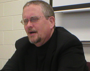 Orson Scott Card often gives lectures to aspiring writers.