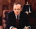 Chrétien speaks on television before the vote.