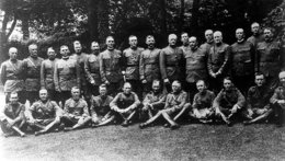 Officers of the American Expeditionary Forces and the Baker mission