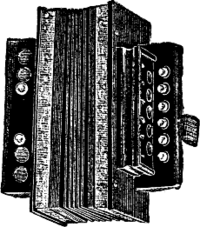 A button accordion